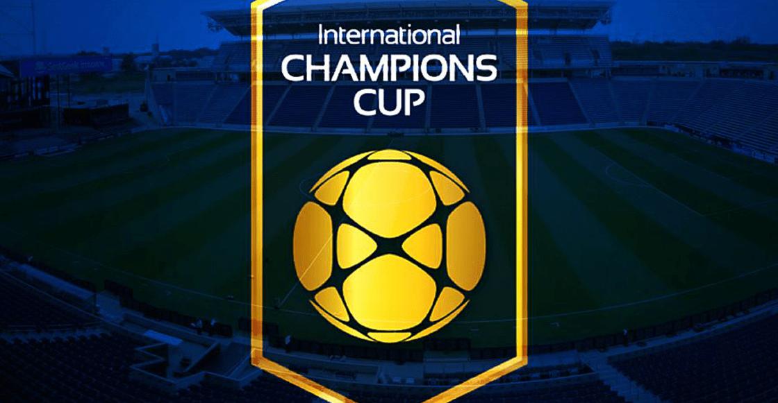 ¿Dónde ver todos los partidos de la International Champions Cup?