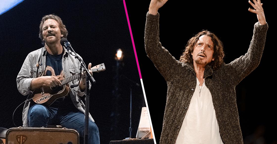 Lagrimita grunge: Eddie Vedder homenajea al fallecido Chris Cornell con