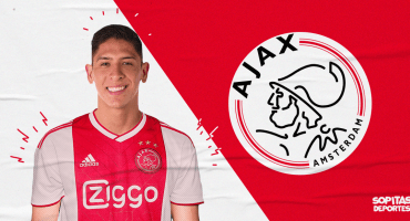 ¡Rómpela, crack! Edson Álvarez es nuevo jugador del Ajax