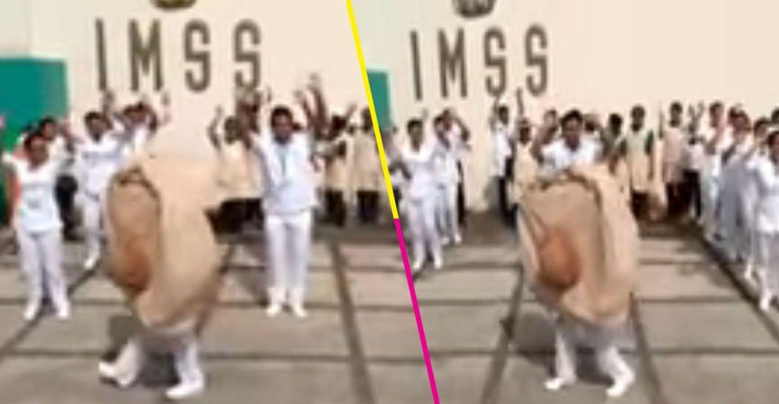Sólo en México: 'El Baile de la chichi' para promover la lactancia materna