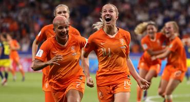 El gol que metió a Holanda a su primera final del Mundial Femenil