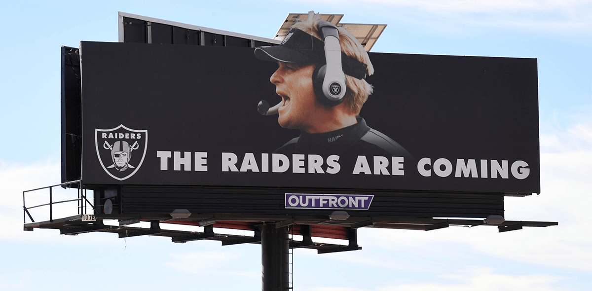 ¡Es bellísimo! Así es el logo conmemorativo de los Oakland Raiders