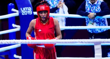 El duro mensaje de Esmeralda Falcón tras ganar bronce en Lima 2019