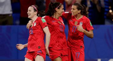 ¡Por el bicampeonato! Estados Unidos se metió a la final del Mundial Femenil