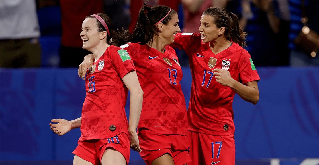¡Van por el bicampeonato! Estados Unidos se metió a la final del Mundial Femenil