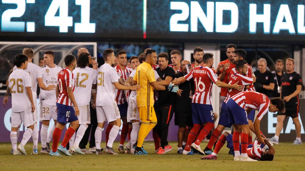 Atlético de Madrid apenitas y le ganó a su hermano mexicano