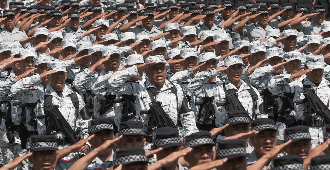Policía Federal en la guardia nacional