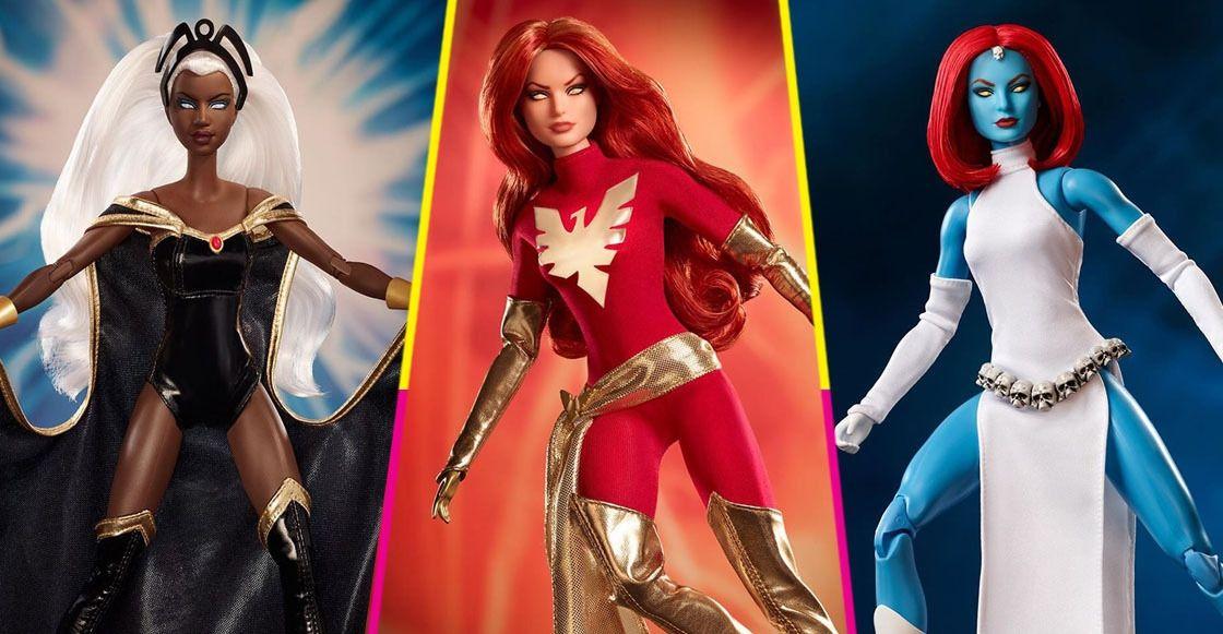 Barbie lanzará muñecas inspiradas en los personajes de 'X-MEN'