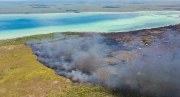 Lo que debes saber del incendio en la Reserva de la Biosfera Sian Ka'an