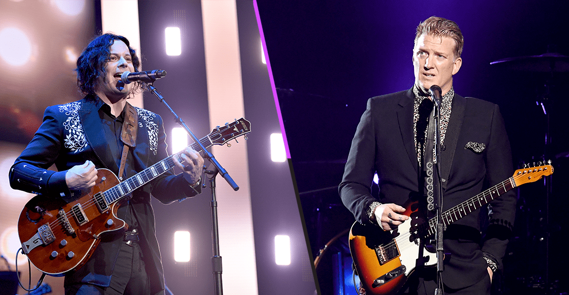 Mira el video donde Josh Homme se une a The Raconteurs para tocar