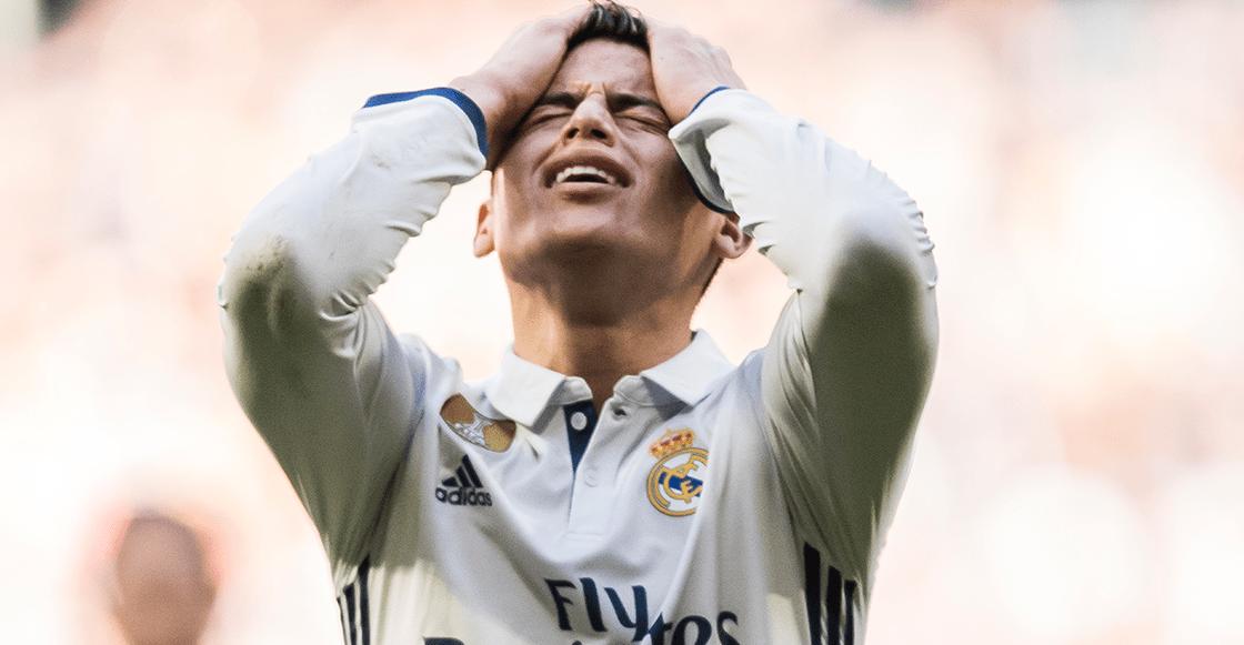 Ni Atleti, ni Napoli... James Rodríguez se quedaría en el Real Madrid