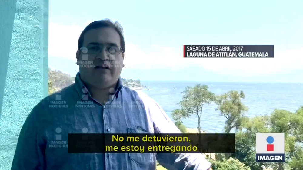 Es usted diabólico, Sr. Duarte: Javidú se grabó antes de su detención para explicar acuerdo con gobierno de EPN