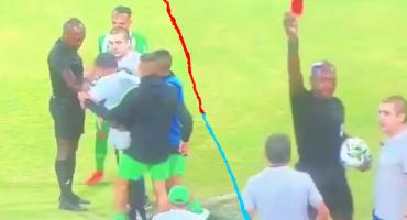¡Ay, profe! Juan Carlos Osorio agredió a un árbitro tras ser expulsado