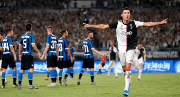 Cristiano y Buffon le dieron el triunfo a la Juventus sobre el Inter en la ICC