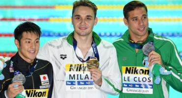 ¡Kristof Milak rompió el récord mundial de Michael Phelps en los 200m mariposa!