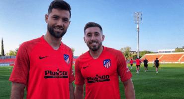 Las primeras palabras de Héctor Herrera con el Atlético de Madrid
