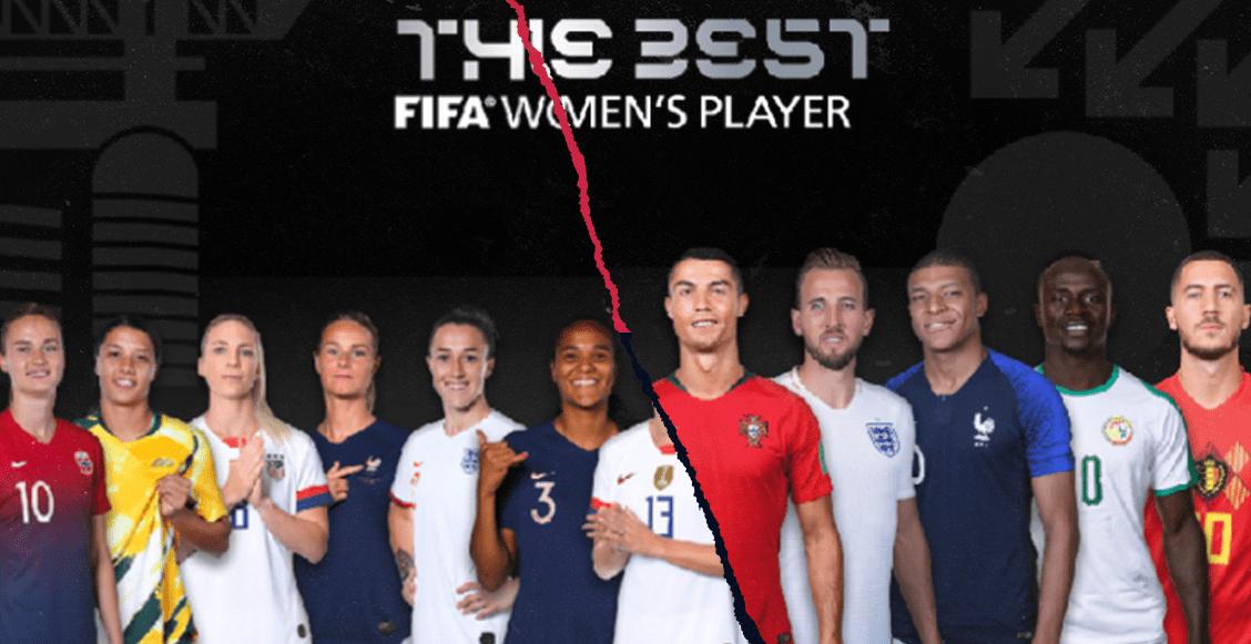 Los y las futbolistas nominados a ganar el premio The Best de la FIFA