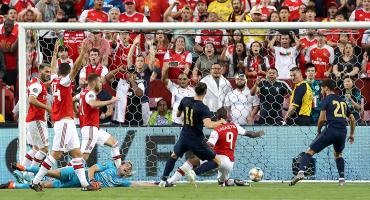 ¡Partidazo! Los goles de la remontada del Real Madrid al Arsenal en la ICC