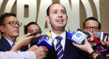 Nomás votaron a favor: Marko Cortés niega que PAN apoyó ampliación de mandato en Baja California