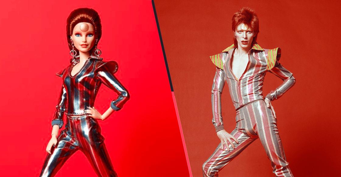 Rebel Rebel: Mattel lanza una Barbie inspirada en David Bowie