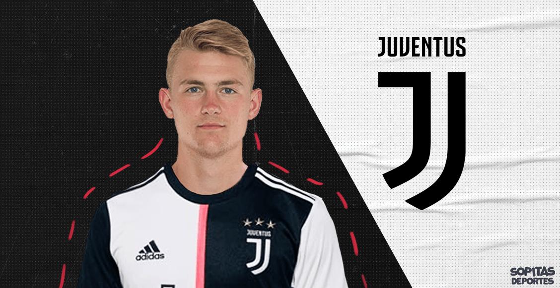 ¡Bombazo italiano! Matthijs de Ligt es nuevo jugador de la Juventus