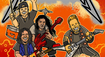 Pa' todos los metaleritos: Metallica lanzará su biografía en versión infantil