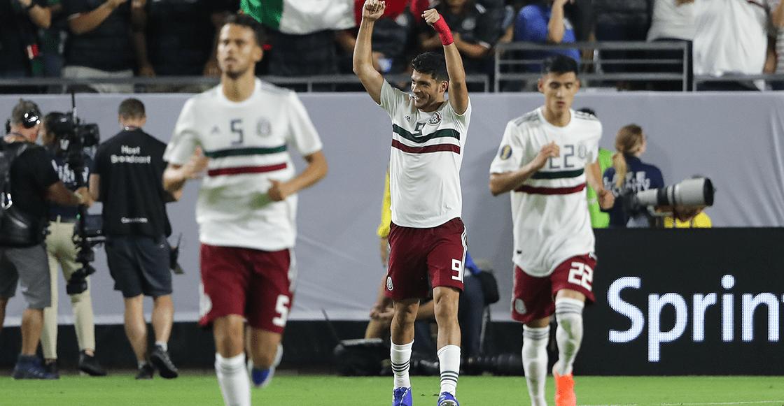 ¡Respiren! Acá el gol con el que México se metió a la final de la Copa Oro