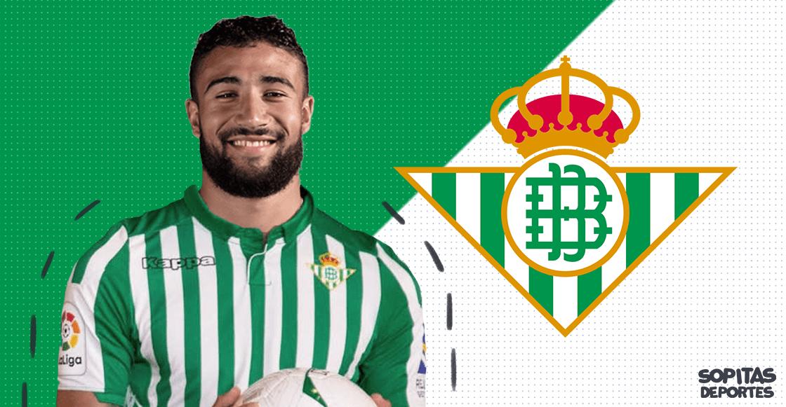 ¡El verdadero bombazo! Nabil Fekir es nuevo jugador del Betis