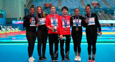 Paola Espinosa y Melany Hernández ganaron medalla bronce y su lugar en Tokio 2020