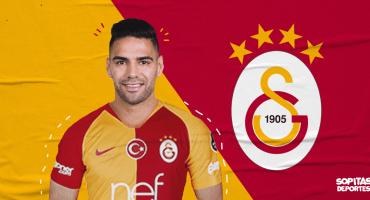 ¡Adiós, 'Tigre'! Radamel Falcao es nuevo jugador del Galatasaray
