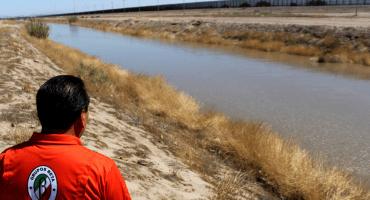 Hallan el cuerpo sin vida de un niño migrante; falleció al intentar cruzar el Río Bravo