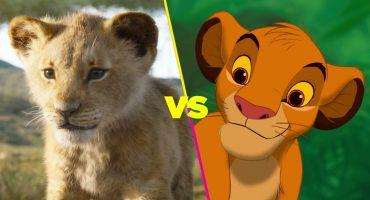 Comparamos todos los personajes de 'El rey león' en ambas versiones de la película