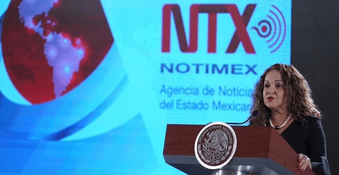 En Notimex había chayote y huachicoleo de información, acusa Sanjuana Martínez