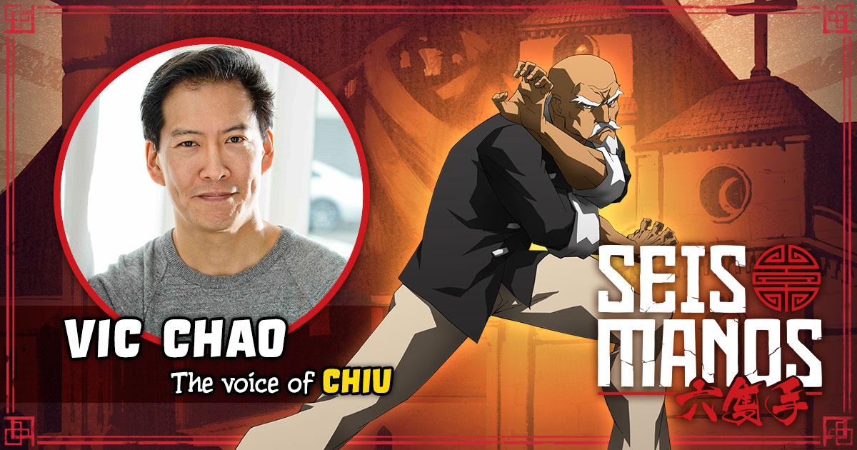 Vic Chao como Chiu en Seis Manos de Netflix