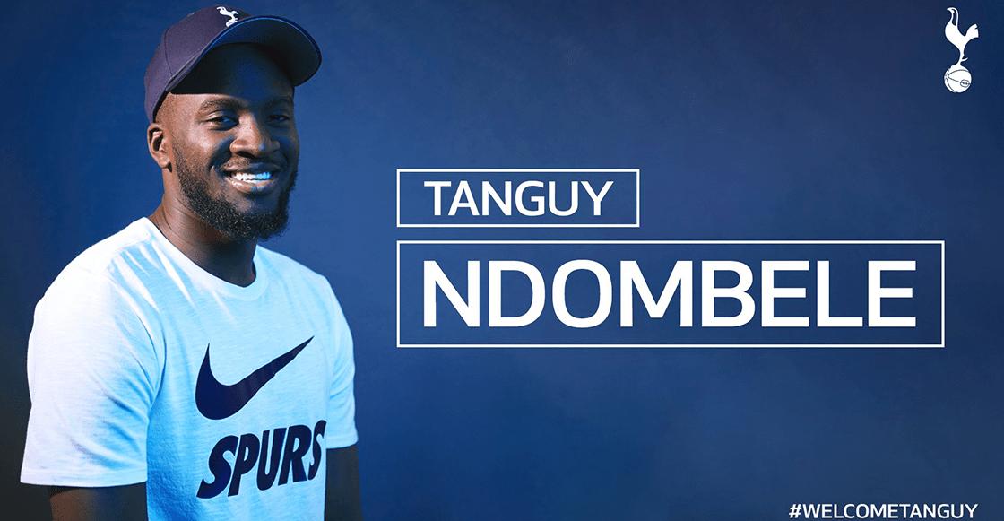Tanguy Ndombélé, el jugador más caro en la historia del Tottenham