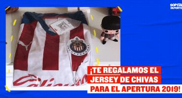 ¡Olvídate del descenso! Te regalamos el jersey de Chivas para el Apertura 2019