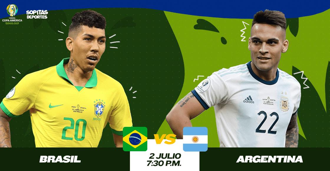 ¿Cuándo, cómo y dónde ver en vivo el Brasil vs Argentina?