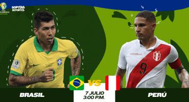 ¿Cuándo, cómo y dónde ver en vivo el Brasil vs Perú?