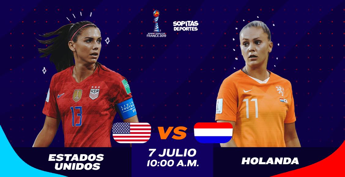 ¿Dónde, cuándo y cómo ver en vivo el Estados Unidos vs Holanda?
