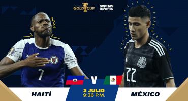 ¿Dónde, cuándo y cómo ver en vivo el Haití vs México?