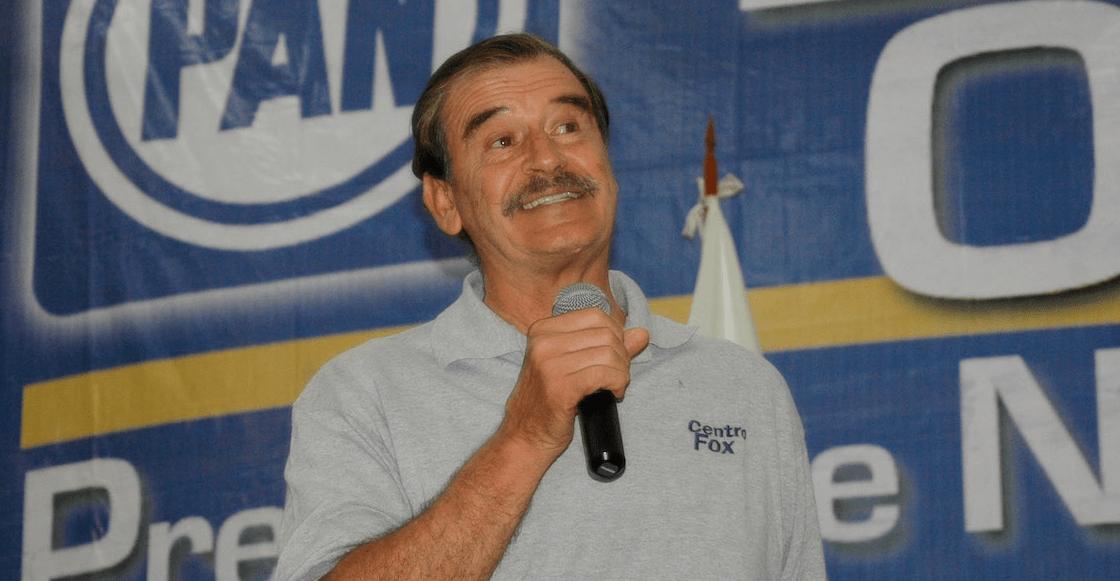 Fox, el expresidente aludido por AMLO por deber impuestos