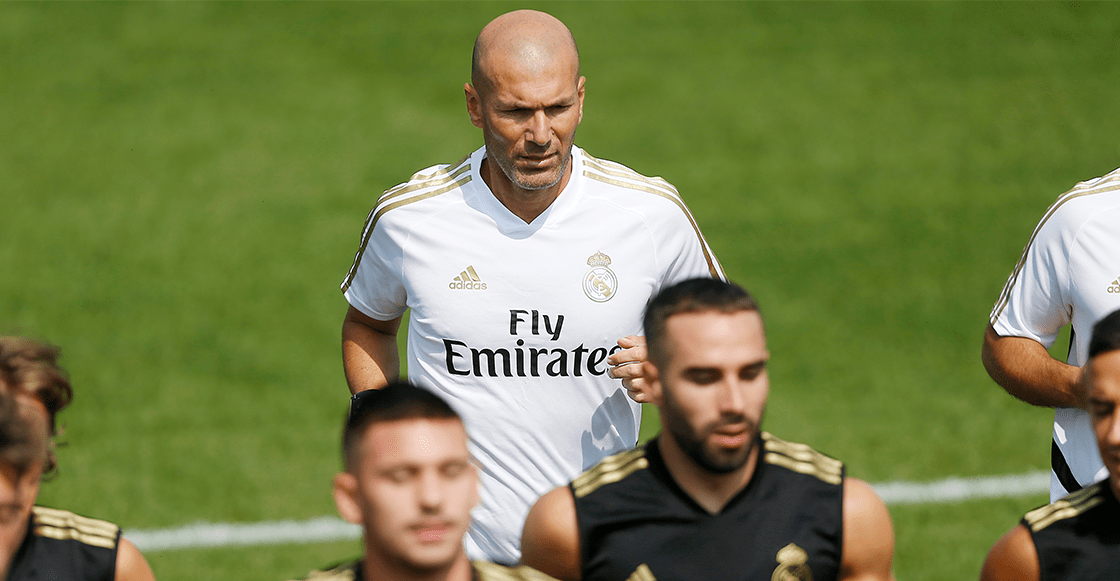 Zinedine Zidane abandonó la pretemporada del Real Madrid
