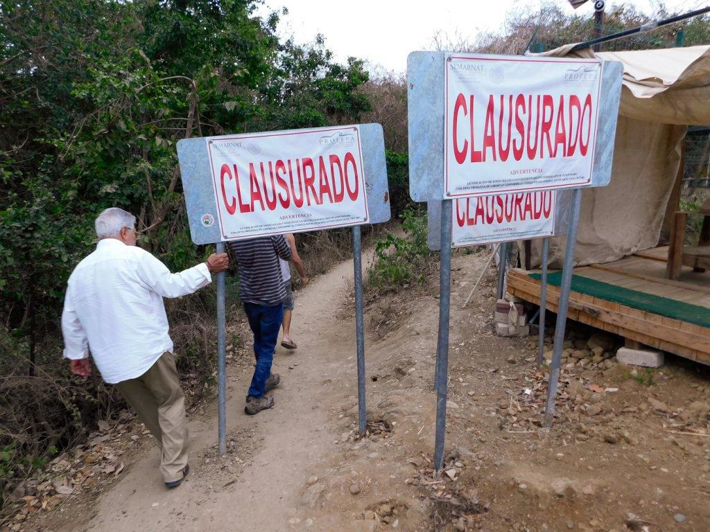 acceso-clausurado-profepa-semarnat-mariana-boy-playa-nayarit