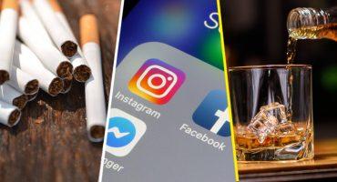 Facebook e Instagram prohibirán contenidos relacionados al alcohol y cigarros