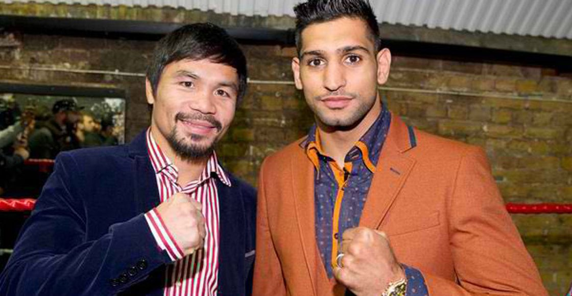 Resultado de imagen para Amir Khan dice que pelea contra Pacquiao será en noviembre en Arabia Saudita