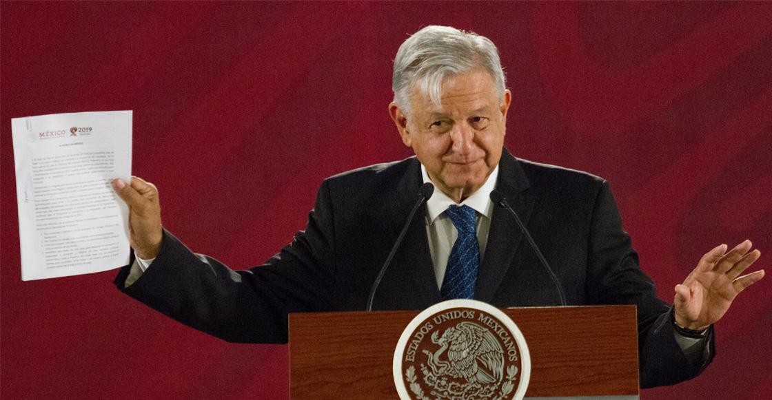 Presidencia declara 'inexistente' el documento de 'no reelección' que firmó AMLO