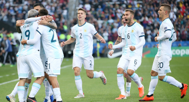 Los goles con los que Argentina le ganó el tercer lugar a Chile en la Copa América