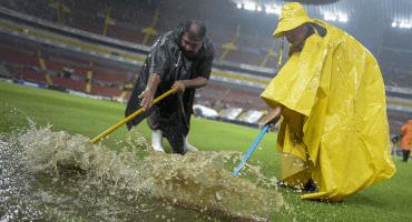 Tormenta retrasa el partido entre Atlas y Juárez en el Jalisco