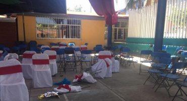 Balacera al exterior de un kínder en Acatlán, Puebla, deja al menos 4 muertos