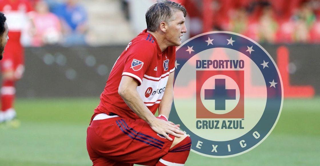 """fdf0284249 Los elogios de Bastian Schweinsteiger para Cruz Azul: """"Aprenderé mucho de  ellos"""""""
